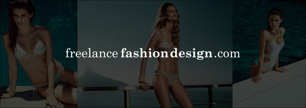 Freelancefashiondesigner Hire a fashion designer | Freelance | www.freelancefashiondesign.com | Swimwear